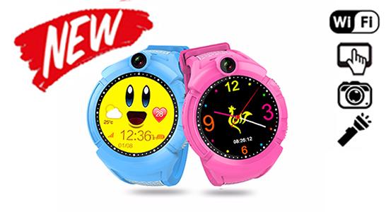 Q200s (q610) - детские часы с gps камерой и фонариком