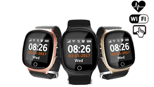 D100 - часы с gps для подростков и взрослых