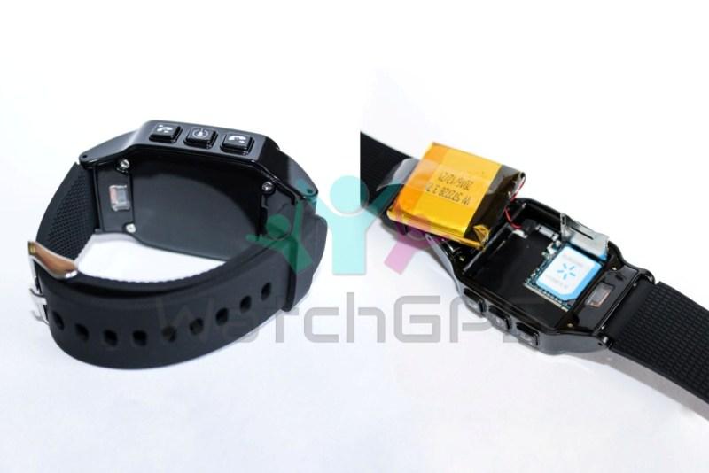 GPS часы D99 вид с боку