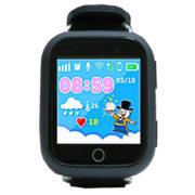 Q100 черные – детские умные часы телефон
