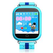 Q100 синие – детские умные часы телефон