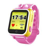 q200 цвет розовый – детские часы с gps