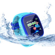 DF25 цвет синий – детские водонепроницаемые часы с GPS
