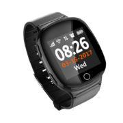 d100 цвет черный – детские часы с gps