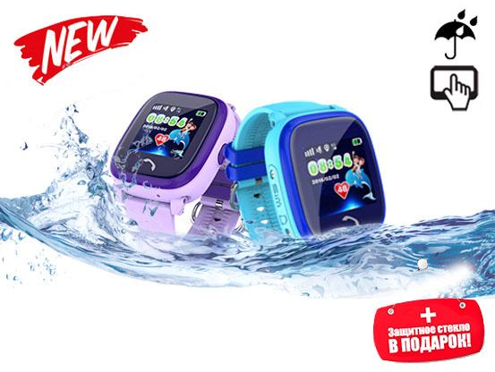 DF25 водонепроницаемые часы с gps для детей