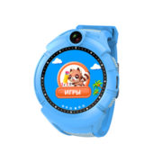Q200s (q610) –  детские часы с gps  цвет синий