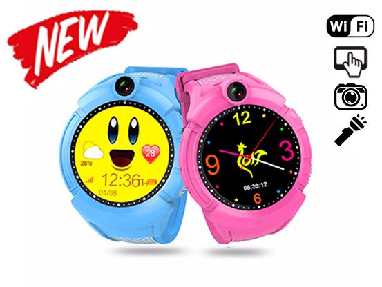 Q100 - Q200s (q610) - детские часы с gps камерой и фонариком детские часы с gps