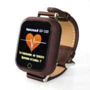 D101 цвет коричневый часы с Gps